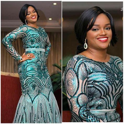 green lace nigerian women designs for weddings nigerian lace dress styles 2017 2018