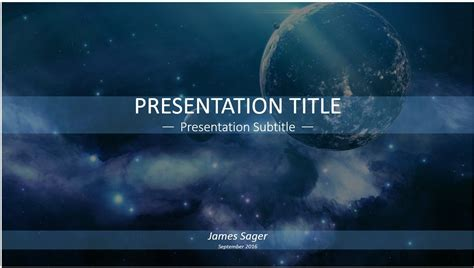 Free Space Powerpoint 12847 Sagefox Powerpoint Templates Microsoft Powerpoint Templates Space