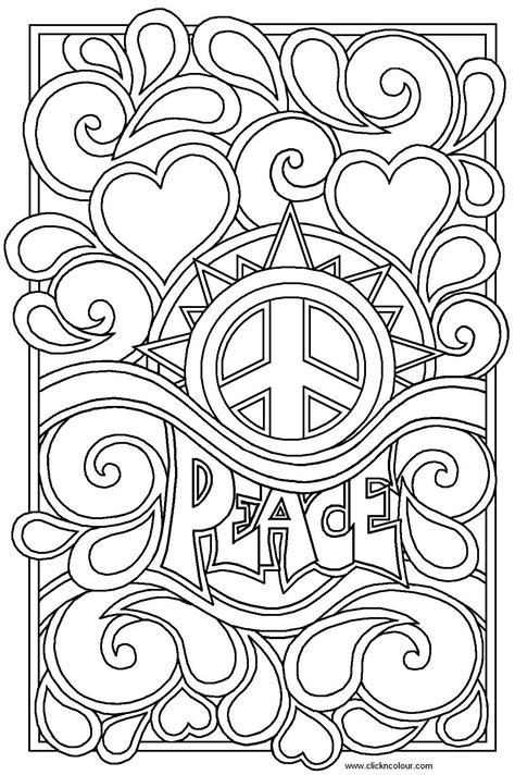 70s Coloring Page by