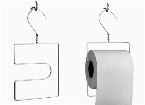 clever toilet paper holders diy toilet paper holder wire hangers 9 clever