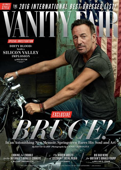 Vanity Fair Song by Cover Story The Book Of Bruce Springsteen Vanity Fair