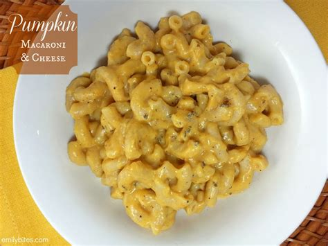 pumpkin mac cheese emily bites
