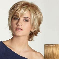sweet shoulder length flip platinum lace front wig for a wispy bangs for medium length hair hair wig rene