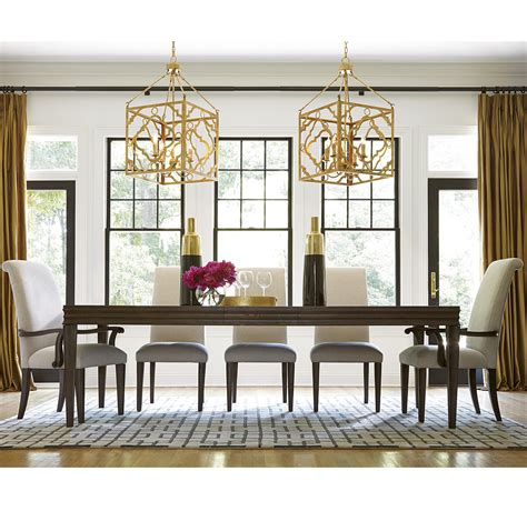 california rustic oak extending  piece dining room set