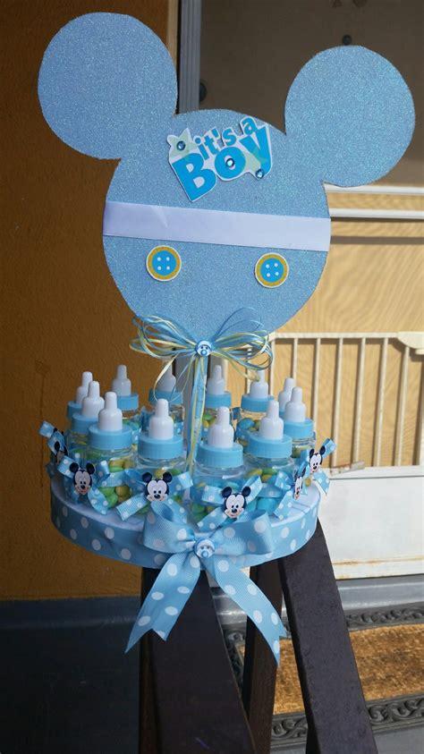 mickey mouse baby shower decorations inspirado de beb 233 mickey mouse centro de mesa de por