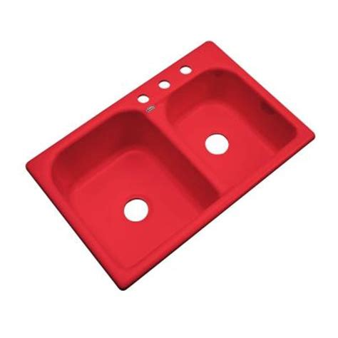 red kitchen sink red porcelain double bowl kitchen sink deep porcelain