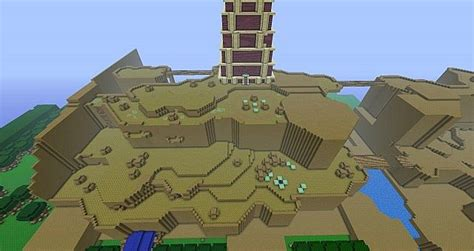 legend of zelda map for minecraft legend of zelda a block to the past minecraft project