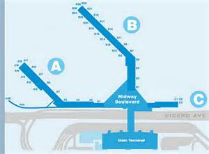 Chicago Midway Airport Map by Airport Terminal Map Midway Airport Terminal Jpg