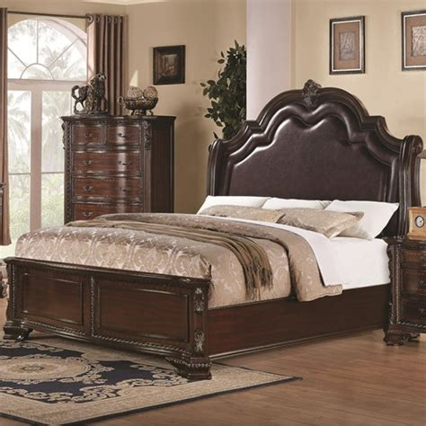 Padded Headboard King Beds King Bed With Upholstered Headboard