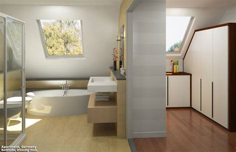 bathroom with dressing room 3d interior rendering services 3d cgi interior architectural visualization