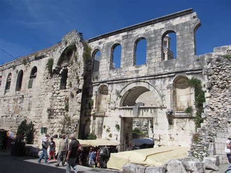 Cannundrums Diocletian S Palace Split | cannundrums diocletian s palace split croatia