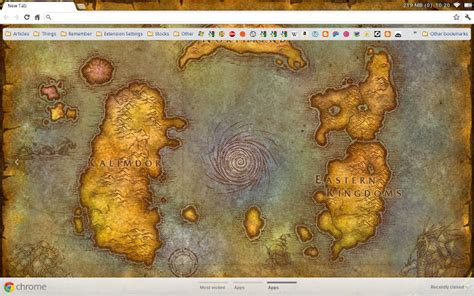 theme google chrome world of warcraft world of warcraft map chrome web store