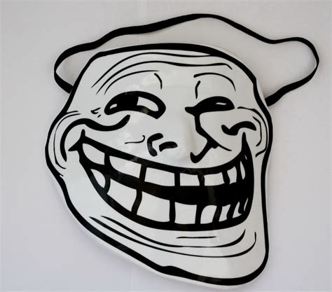 Troll Meme Mask - trollface mask www imgkid com the image kid has it