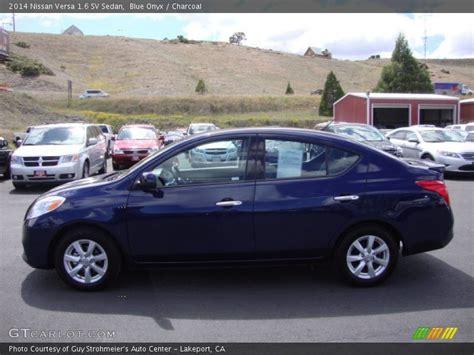 nissan versa blue 2014 2014 nissan versa 1 6 sv sedan in blue onyx photo no