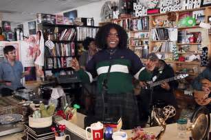 Tiny Desk Concert Swell Season Noname Performs For Npr S Tiny Desk Concert Series Billboard