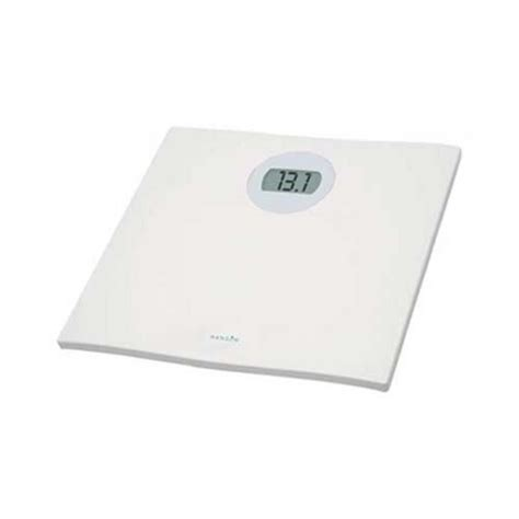 hanson digital bathroom scales hanson h715 white electronic digital bathroom scales