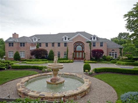 brick house nj 12 000 square foot brick mansion in colts neck nj homes of the rich