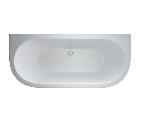 Clearwater Saturn Freestanding Back To Wall Modern Bath