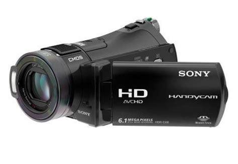 Kamera Sony Cx najmniejsza kamera hd jest na karty pamiä ci â sony hdr cx6ek gadå etomania pl