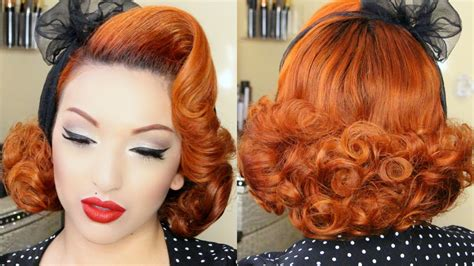 pin up hairstyles images pin up hairstyles tutorial www pixshark images