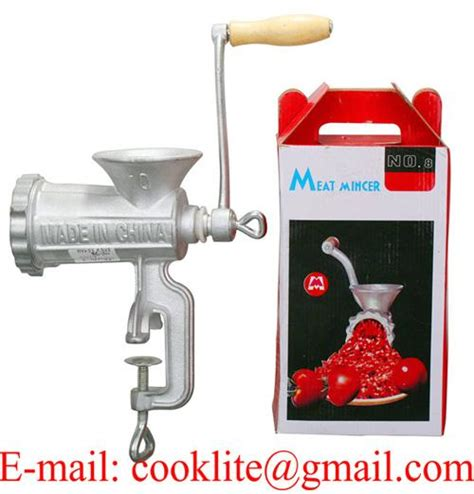 Mincer No 8 manual cast iron grinder manual household mear