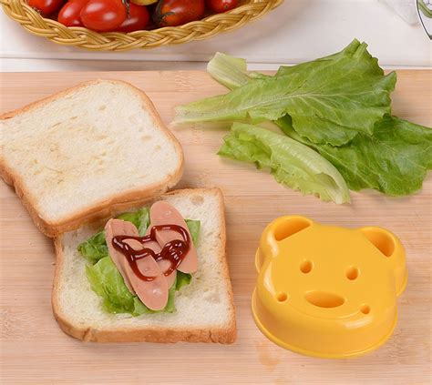 Sandwich Mold teddy sandwich mold lifehack store