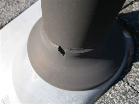 Plumbing Vent Boot by Common Roof Leak Points Cracked Plumbing Vent Boots Jacks