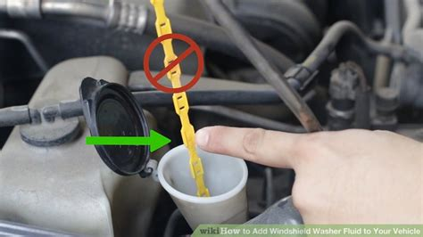 how do you add windshield washer fluid for the rear windshield how to add windshield washer fluid to your vehicle 11 steps