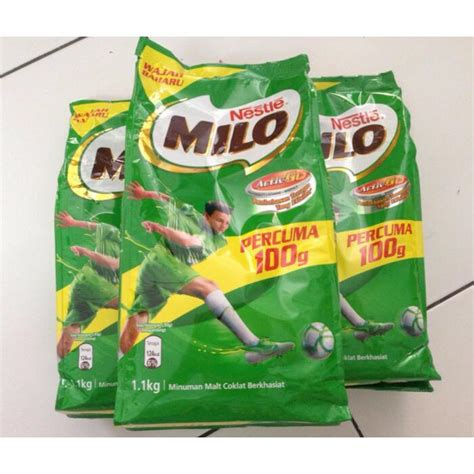 Nestle Milo Malaysia 1 1 Kg nestle milo 1 1kg milo refill 1 1kg milo malaysia elevenia