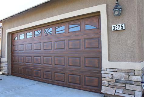 A 1 Garage Doors Custom Faux Wood Garage Doors Installation Sales Az