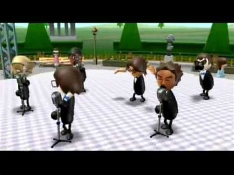 swing acapella wii music carmen a capella swing version youtube