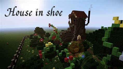 shoes in house house in shoe minecraft project