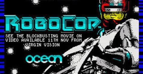 Oceanseven Robocop Vintage 9 retro news zx spectrum classics robocop a retro