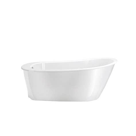 fiberglass bathtubs home depot maax sax 60 in fiberglass flatbottom bathtub in white