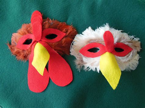 diy masks diy chicken mask and costume search