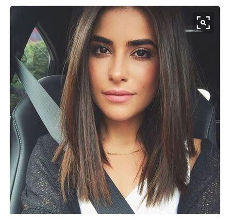 shoulder length blunt cut 17 best ideas about blunt hair on pinterest blunt