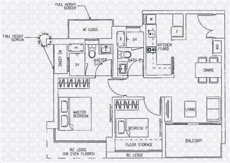 h2o residences floor plan floor plans for h2o residences condo srx property