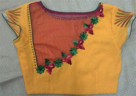 Blouse Addict kota blouse with net and aplicwork 91 9866583602 whatsapp no 7702919644 blouse addiction