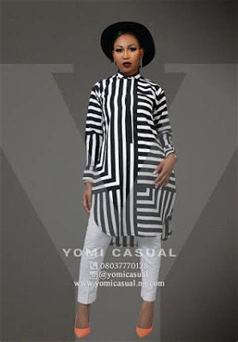 yomi casual unveils of the year collection modeled by photos information nigeria
