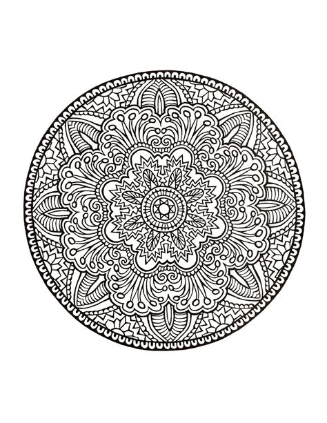 mystical mandala coloring pages free mystical mandala coloring book mandala