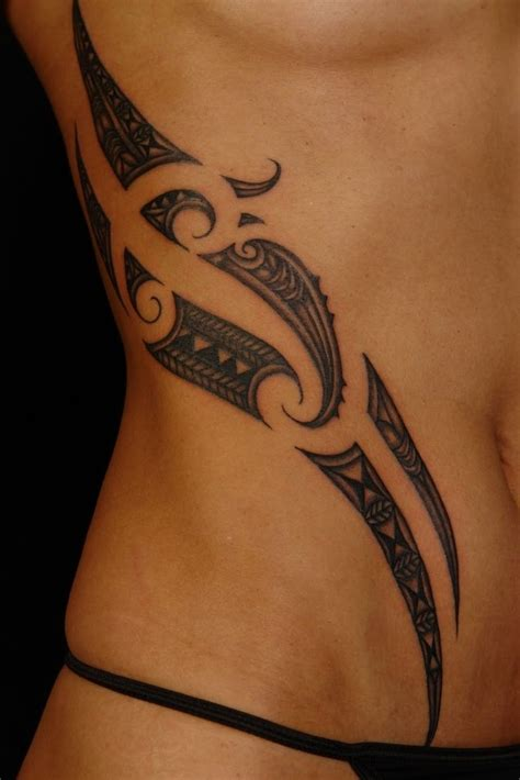 tribal tattoo on side tribal side designs best design