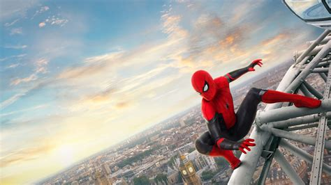 spider man   home  p laptop full hd