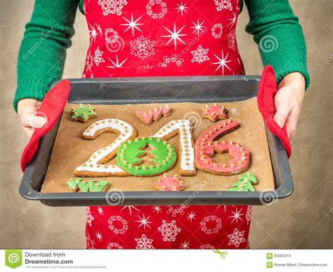 new year cookies 2016 2016 new year cookies stock photo image 63084313