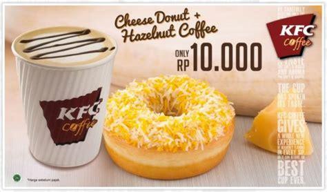 Hazelnut Coffee Kfc kfc cheese donuts cheese donuts at kfc indonesia