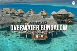 overwater bungalows bali indonesia 12 best overwater bungalow vacation spots hiconsumption