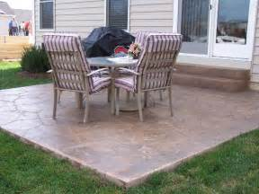 Old Concrete Patio Ideas by Concrete Patio Ideas For Your Backyard Comforthouse Pro