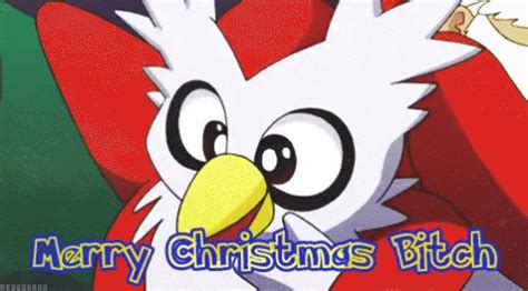 pokemon christmas gif pokemon christmas delibird discover share gifs