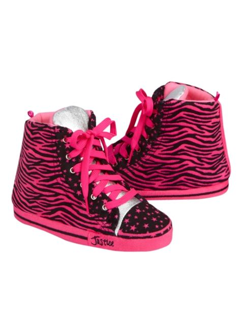 justice shoes zebra print sneaker slippers slippers shoes shop