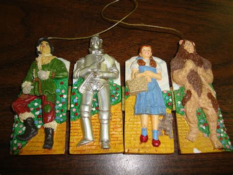 Out Of Oz 1 wizard of oz ornament folds out 3 1 2 quot 2000 ebay