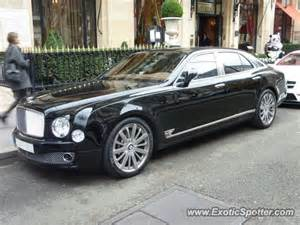 Bentley Fr Bentley Mulsanne Spotted In On 11 24 2012